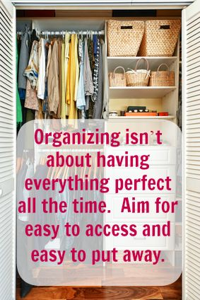 How to Stay Motivated to Organize Anything #organize, #closet organization #organize office
