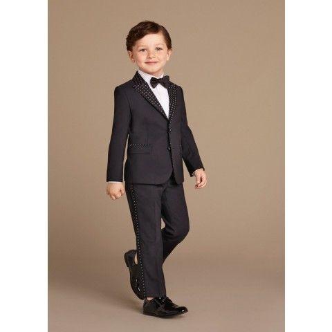 Dolce & Gabbana Boys Black Suit Jacket