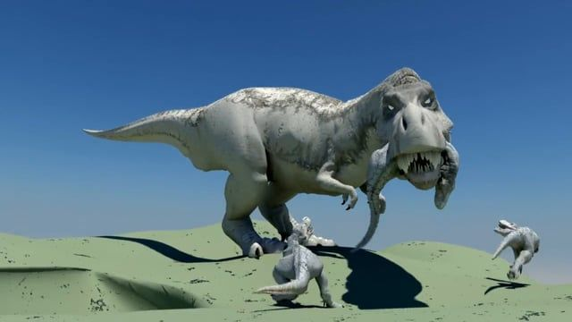 Did Some personal test with Trex, Inspired by King kong.