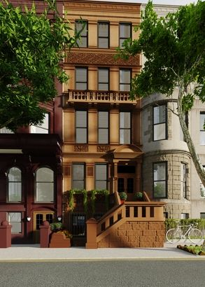 99 best brownstone dreams images on pinterest for Townhouses for sale in harlem