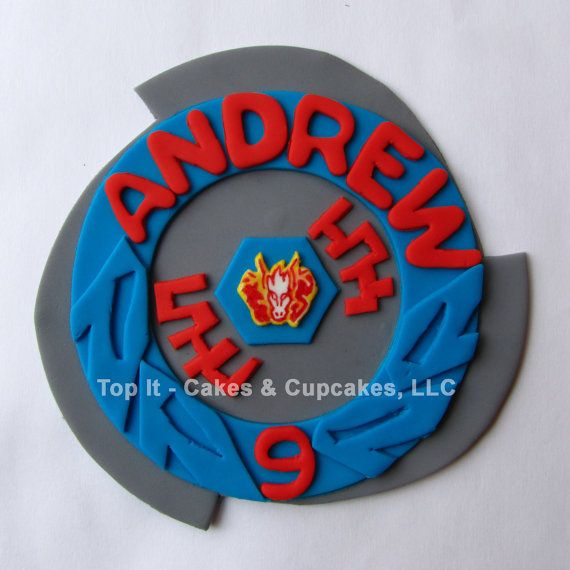 25 best beyblade cake ideas on pinterest pokemon cakes for Anime beyblade cake topper decoration set