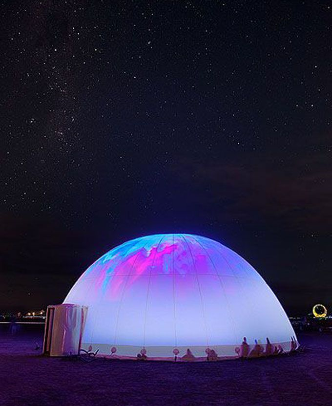 There's no place like Dome... especially with your very own laser show.