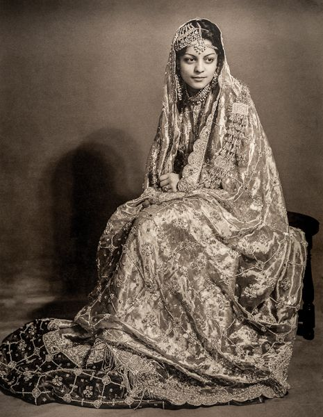 Nawab Begum Sajida Sultan of Bhopal, also Begum of Pataudi