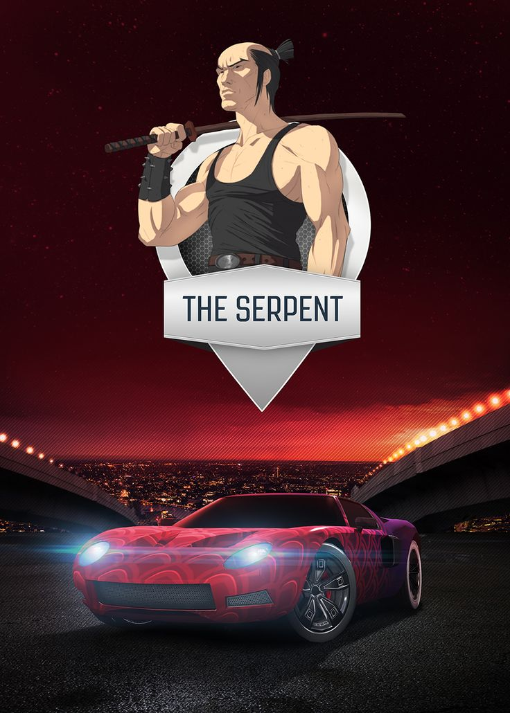 The Serpent - mobile game poster by T-Bull Entertainment