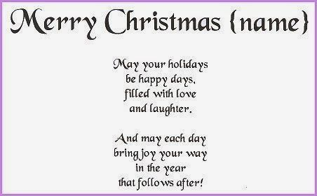 Christmas Family Poems And Quotes. QuotesGram by