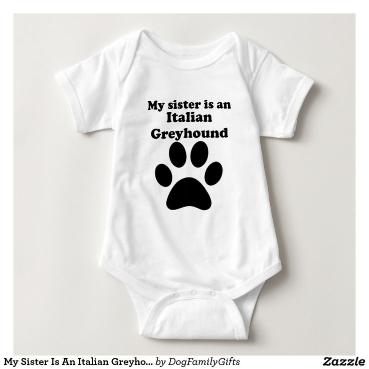 My Sister Is An Italian Greyhound Tshirts