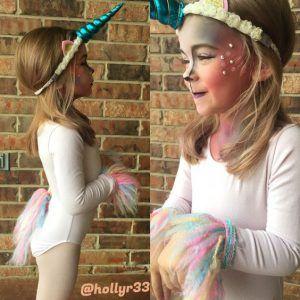 Einhorn Kostüm selber machen   Kostüm Idee zu Karneval, Halloween & Fasching