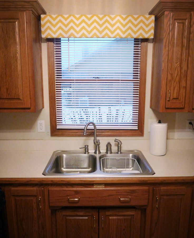 Wood Valance Over Kitchen Sink: Cheap Curtains, Curtain Rods And