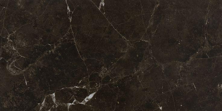 #Bricmate M36 Noir St. Laurent 30x60. Marmorinspirerad granitkeramik med härlig variation. Sammetslen yta likt en slipad marmor.