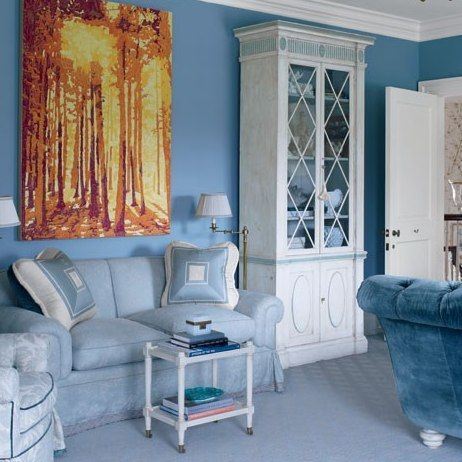 Rooms In Blue