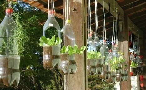 macetas con material reciclado para niños - Buscar con Google
