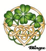 Shamrocks With Celtic Knot Celtic Gif Pinterest Celtic Knots And Animation