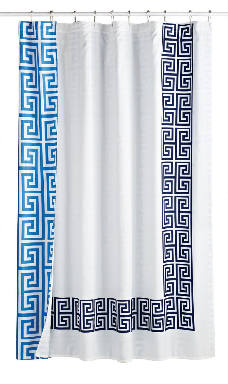 best colorful shower curtains images on pinterest  bathroom  - jonathanadlershowercurtain (×)