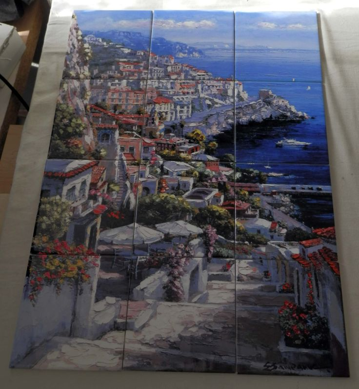 22 best tuscan ceramic tile murals images on pinterest tile water view images on tiles such as tiles with beach scenes and mediterranean scenes on tiles tuscan tile scenes add a unique element to your tiling project voltagebd Images