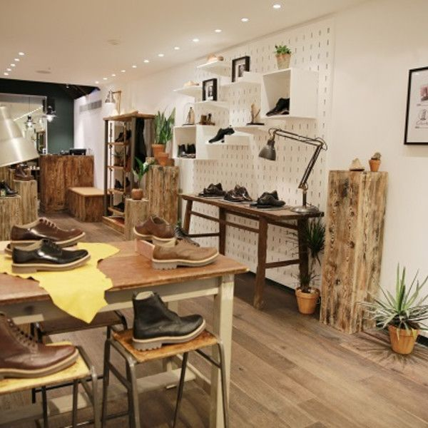 Design Showcase: Menu0027s Pop Up Store For Clarks   Retail Design World