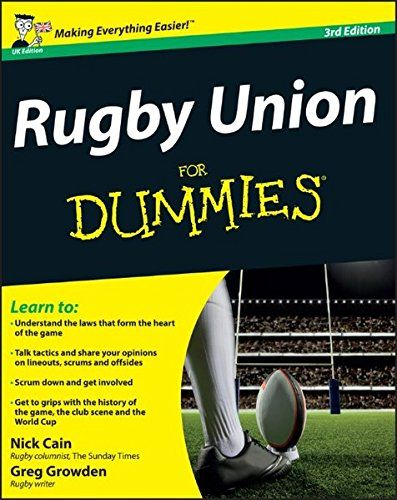 From 3.99 Rugby Union For Dummies