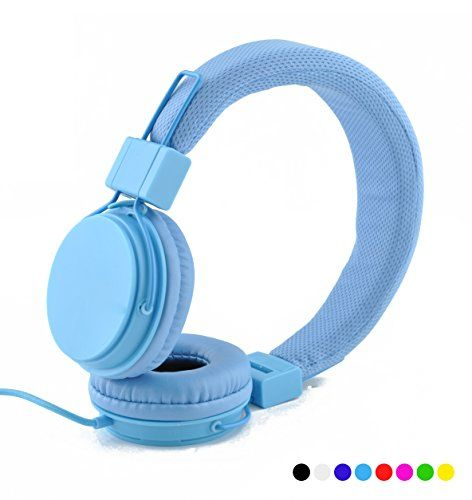 Special Offers - Einskey Ultra-Soft Headphones with Microphone Inline Control for Travel Running Sports Chatting Gaming Hifi Audio Lightweight Foldable Design H004 Headset for Kids Men Woman (Blue) For Sale - In stock & Free Shipping. You can save more money! Check It (December 02 2016 at 02:04AM)…