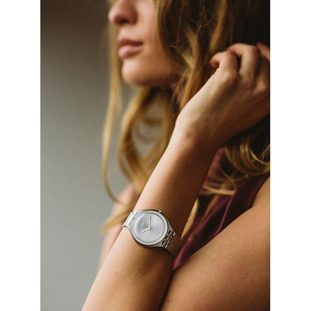 Swatch'ın Yeni model saati ile siz de tarzınızı yansıtın. *%100 Orijinal *2 Yıl Garantili *Adınıza Faturalı *Ücretsiz Kargo Ürünün kampanyalı fiyatı, özellikleri ve satın alma işlemi için 05414147228 numaralı hattan bize ulaşabilirsiniz.