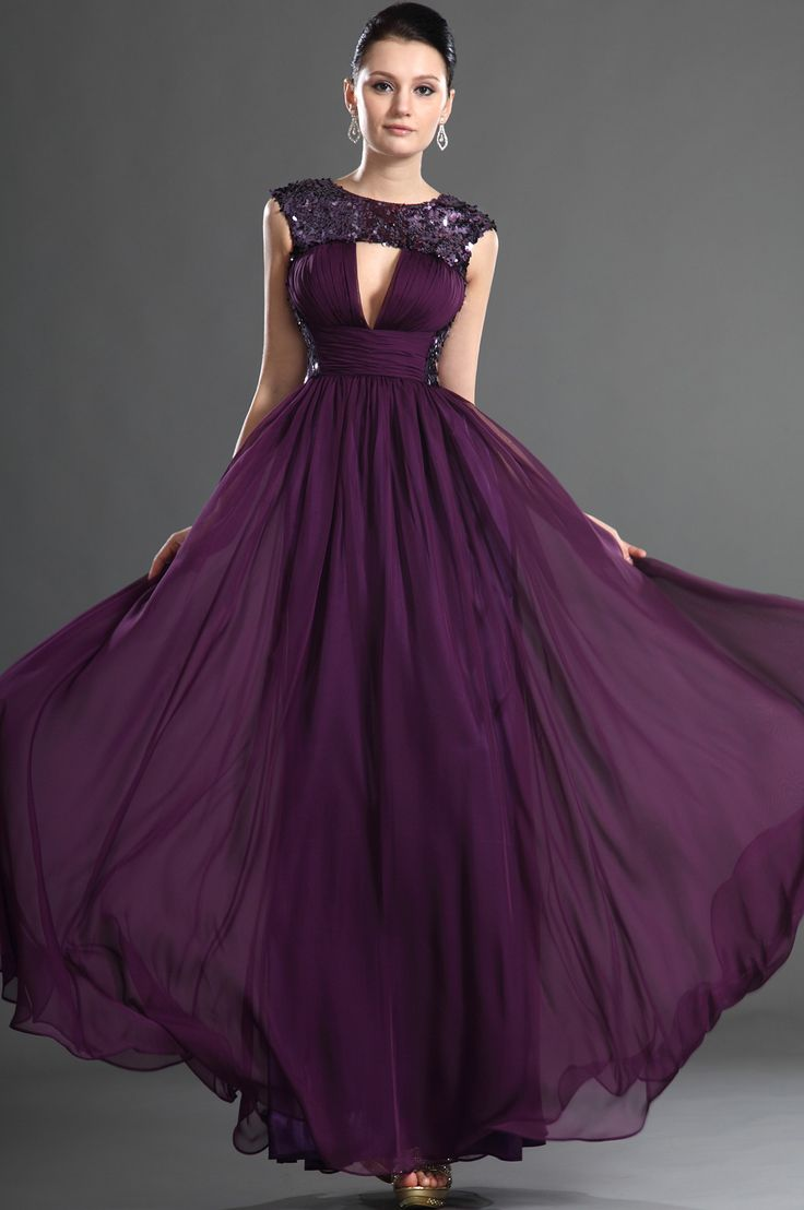 Best 25+ Purple evening dress ideas only on Pinterest | Elegant ...