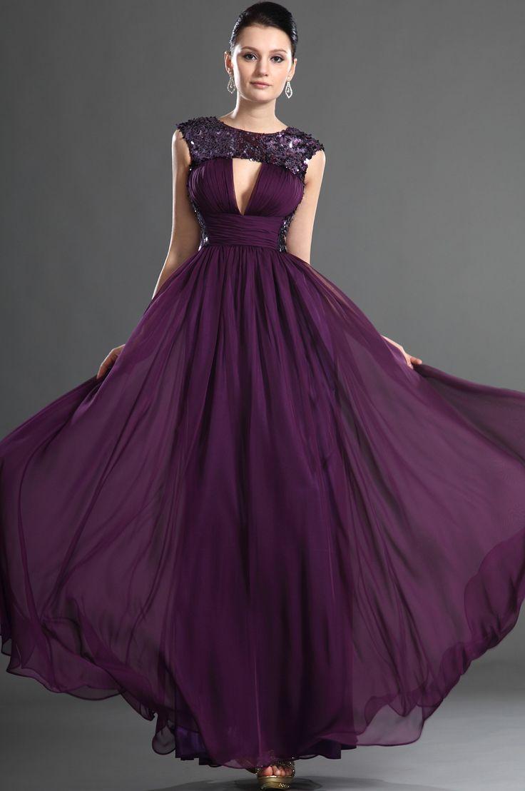 17 best ideas about Purple Evening Dress on Pinterest   Elegant ...