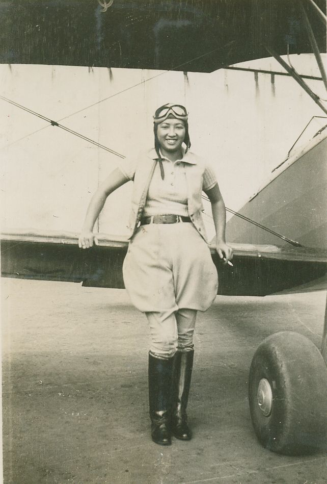 Hazel Lee - a Chinese American pilot who flew for the U.S. Army Air Forces during World War II.