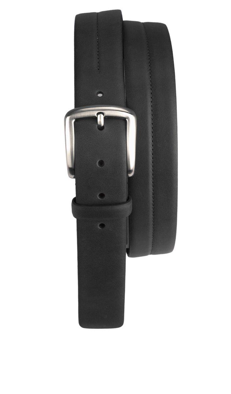 Cintura Saldata GRINGO 3,5 CM con Fibbia Nero