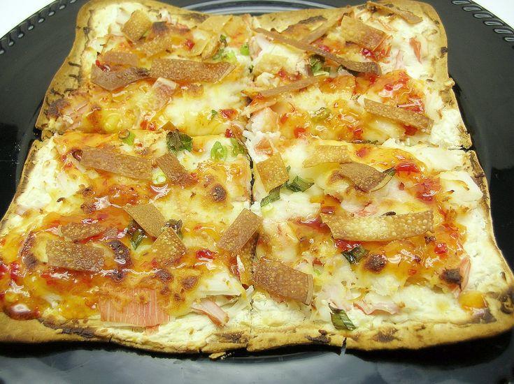 Crab Rangoon Pizza -Like Fong's