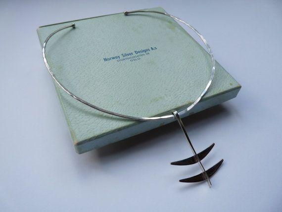 Norwegian Design sterling silver handmade by VintageDesignSilver