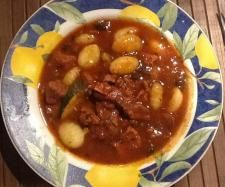 Quick beef casserole with Gnocchi | Official Thermomix Recipe Community