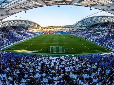 Brighton & Hove Albion season-tickets now sold out