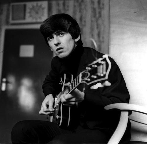 George Harrison, Musician and songwriter. Born Liverpool.  One of the four Beatles.  Died Los Angeles on this day 29th November 2001