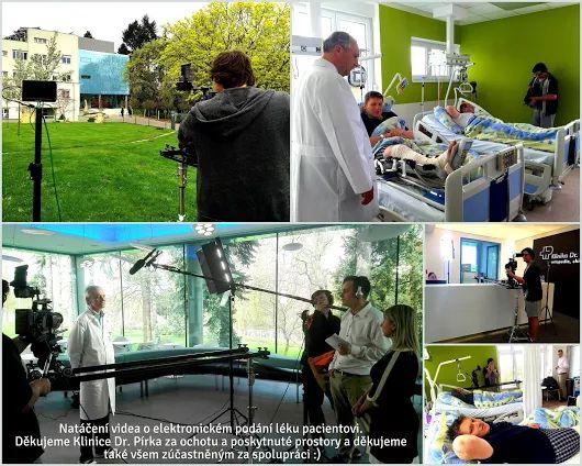 Ve spolupráci s PR Film.cz pro Vás připravujeme nové video o elektronickém podání léků, které jsme natáčeli na Klinice Dr. Pírka. Klinice bychom chtěli moc poděkovat za obrovskou ochotu a vstřícnost.