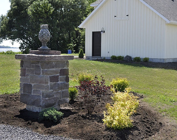 Building Stone Pillars : Best stone pillars ideas on pinterest front porch