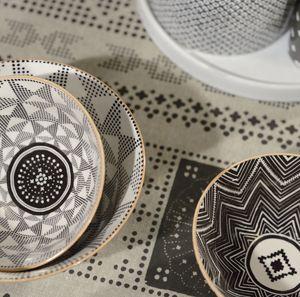 Bol en porcelaine motifs Eclectic (3 motifs) Jardin d'Ulysse