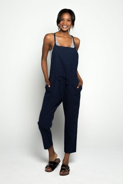 Painter's Overalls, Navy Blue, Casual Look, Style, Fashionista, Cozy, Chic, Casual