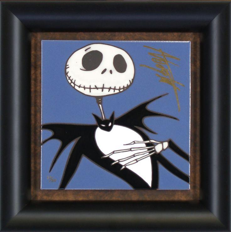Nightmare Before Christmas - Jack - Tile - World-Wide-Art.com - #nightmarebeforechristmas #halloween #disney #timburton #allysonvought