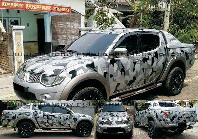 Mitsubishi Strada Triton Silver - Custom Black to ...
