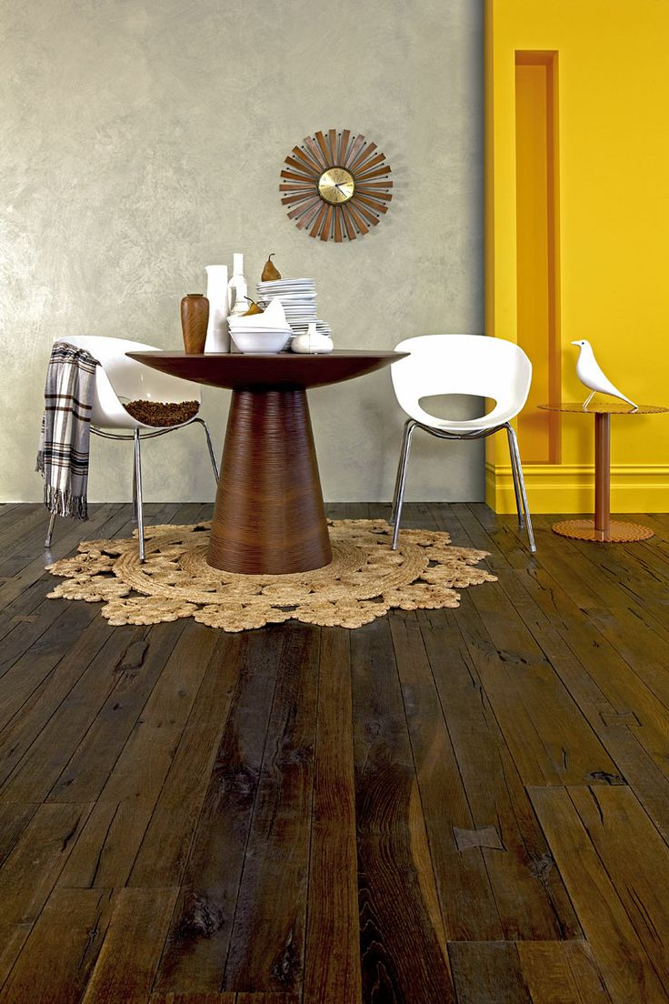 Antique Stout Brown American Oak Timber Floors