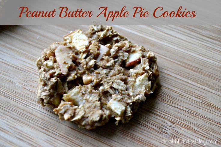 Peanut Butter Apple Pie Cookies   Food Revolution   Pinterest