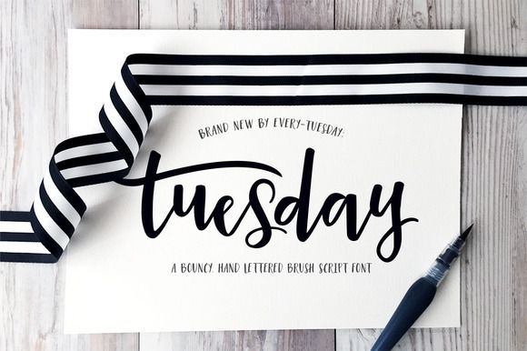 Tuesday Script by everytuesday on Creative Market