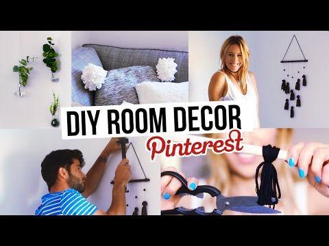 La déco de mon appart! 3 DIY inspirés de Pinterest!