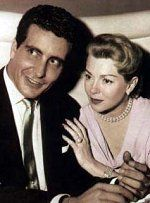 April 4 – Cheryl Crane, daughter of actress Lana Turner, fatally stabs her mother's gangster lover Johnny Stompanato (the stabbing is eventually ruled as self-defense). Stompanato with Lana Turner