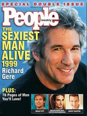 Richard Gere: People Magazine's sexiest man alive 1999...I agree