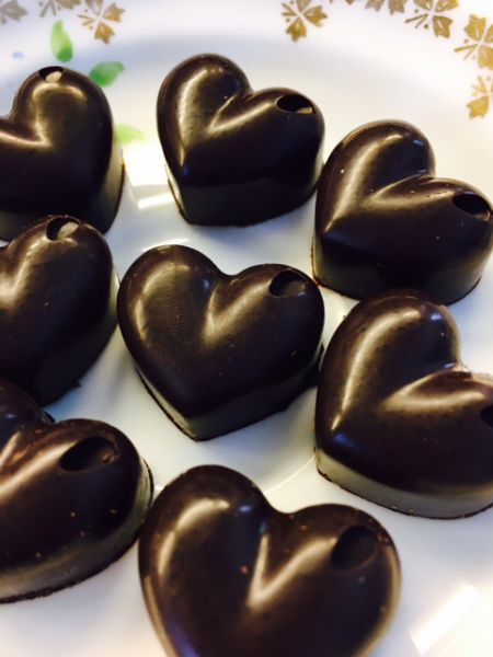 Chocolate is happening! You can't have Valentine's Day without it <3 We have a mind blowing recipe for Valentine Truffles…and did I mention, they are vegan!   Ingredient…