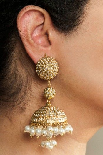 Fashion Earrings | Jhumkas | Chandballis | IndiaInMyBag.com