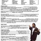 "Snoop Dogg's history review is a fun, 1 page overview of the early American colonies includes 27 vocabulary terms in a word bank at the top, and then a reading in which students fill in the blanks.     However, the reading has been translated into ""Snoop Speak"" to make it a little more fun for your students. Here is a sample paragraph:"