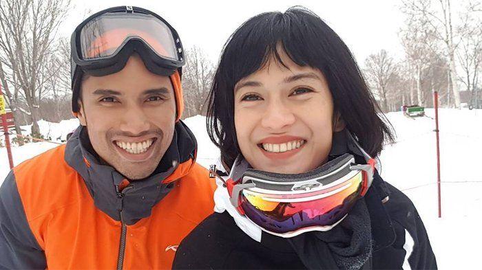 Instagram Dian Sastro - Main Ski Di Jepang, Cinta Dibilang Mirip Shizuka