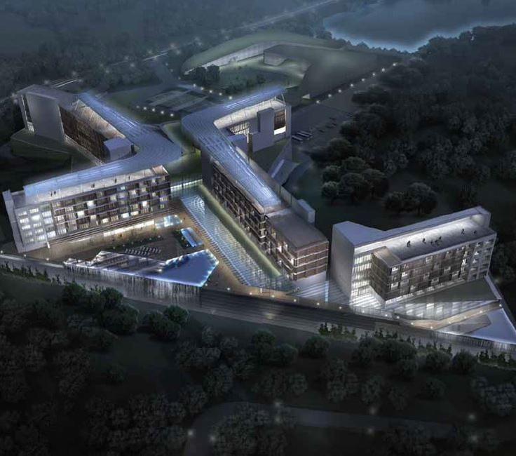 Sun Moon Lake Resort Hospital, HOK