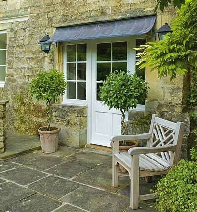 french home awnings for doors | Garden Requisites designers and makers of English Wirework Garden ...