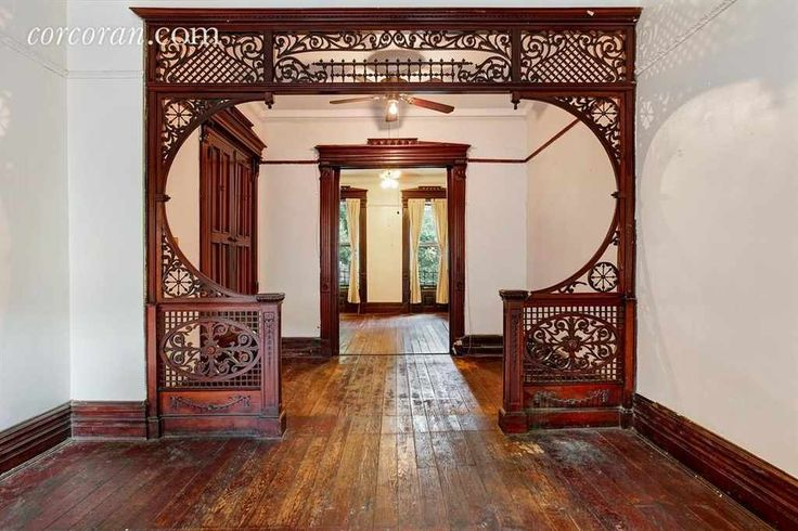 Opportunity Knocks on a charming tree lined Bedford Stuyvesant street!! Create your dream kitchen and baths in this wide and deep 3 story Brownstone. This 20 x 48 x 100 foot 3 story home has ALL the original detail including built-in cabinetry in the original dining room, crown moldings, built in shutters and magnificent wood grill work on the parlor and top floors. Original seating in the entry hall with detailed staircase leading to the top floor. This house has not been ruined by bad…